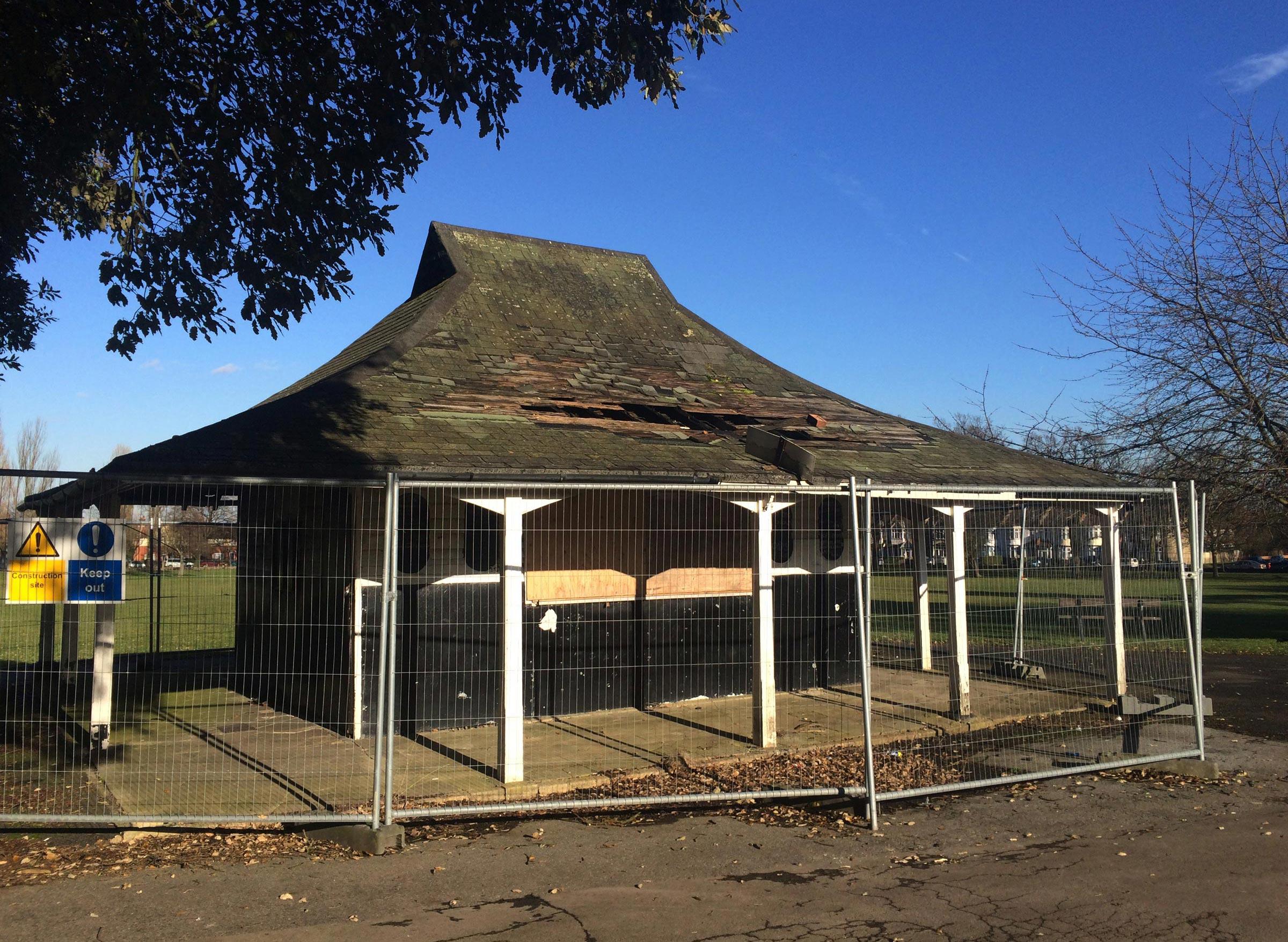 Ashburton Park Pavillon. Photo Vipul Sangoi