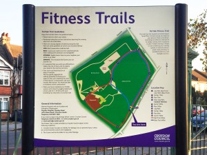 fitness trail map